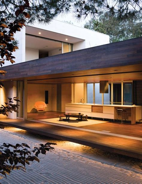 The Wabi House…japanese Architecture In California