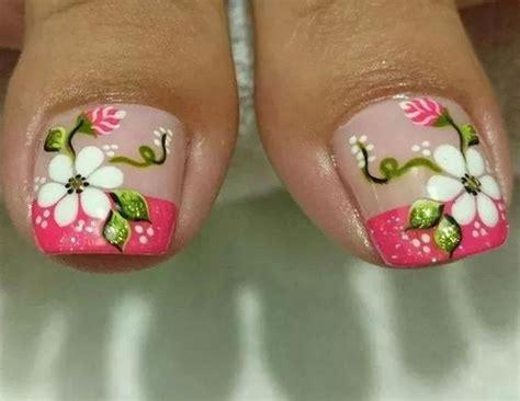 10:02 nails ivette 11 942 просмотра. Pedicura con 8 diseños de flores para hacerlo en casa ~ Manoslindas.com