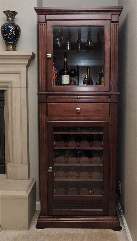 handmade wine cabinetcurio display cabinet  ziegler