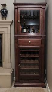 Handmade Wine Cabinet/Curio Display Cabinet by Ziegler