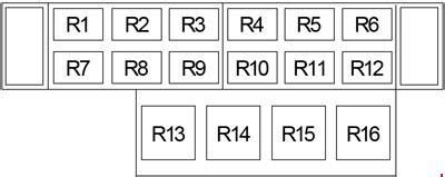 2009 F650 Fuse Box by 2004 2010 Ford F650 F750 Fuse Box Diagram 187 Fuse Diagram