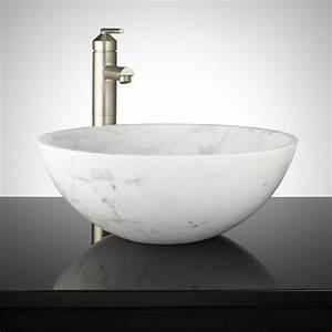 Polished, Marble, Vessel, Sink