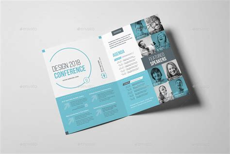 conference bifold brochure  snowboy graphicriver