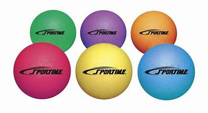 Playground Balls Rubber Assorted Sportime Colors Larger