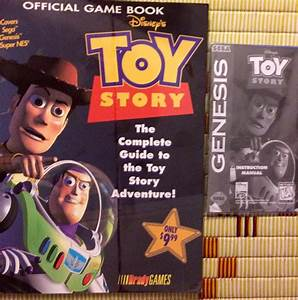 Video Games Toy Story Strategy Guide  U0026 Manual For Sega