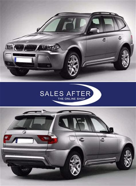 bmw x3 m paket salesafter the shop bmw x3 e83 m aerodynamik paket