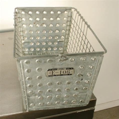 Gym Locker Steel Wire Basket Storage Container
