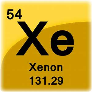 Xenon Element Cell - Science Notes and Projects