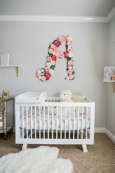 Whether you are having a bouncing baby boy or a giggling baby girl, you'll find some great tips to decorate the nursery. Baby Bailey's Nursery   Baby room themes, Baby girl bedroom, Baby girl room