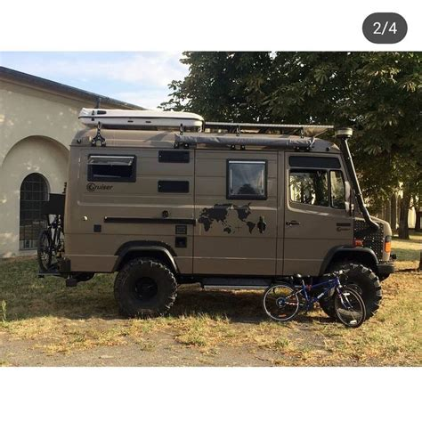 """With millions of cars, finding your next new car or used car and the car reviews and information you're looking for is easy at autotrader. Mercedes 814 4x4 Overland on Instagram: """"Looks like Walter has a twin brother in Dresden ..."""