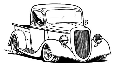 Kleurplaat Hotrod by Rod Coloring Pages For You Gianfreda Net
