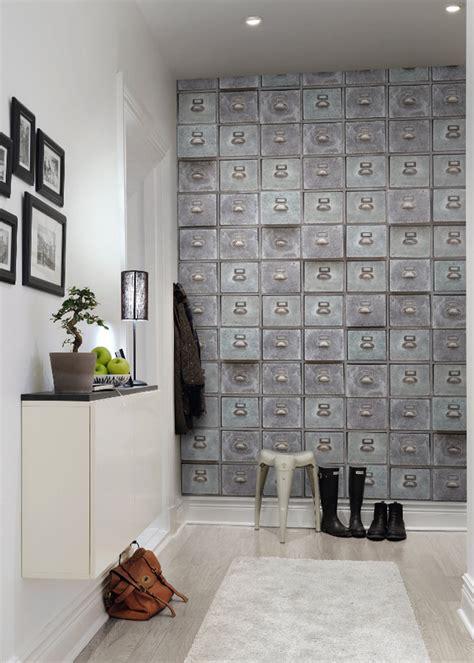 papier peint trompe l oeil cuisine inspiration papier peint trompe l 39 oeil ou effet matière