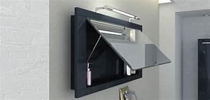 Badezimmer Spiegelschränke Mit Beleuchtung : spiegelschr nke wandspiegel leuchten badezimmer bad direkt ~ Frokenaadalensverden.com Haus und Dekorationen