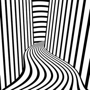 Free coloring pages of op-art sheets
