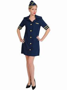 Airline stewardess costume: buy online at Funidelia