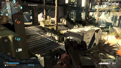 Call Of Duty Ghosts Multiplayer Dominating Domination Hd