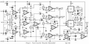 Audio Surround Decoder Circuit Diagram