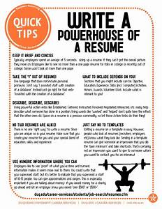 powerful resume tips easy fixes to improve and update With tips on how to write a resume for a job