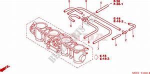 Throttle Body  Tubing  For Honda Cbr 954 Fireblade 2002