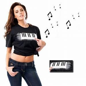 T Shirt Größe Berechnen : sound t shirt piano mit lautsprechern klaviertasten machen t ne ~ Themetempest.com Abrechnung