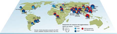 Carte Des Grandes Villes Du Monde by Une Carte Des Grandes Villes Du Monde Rumor