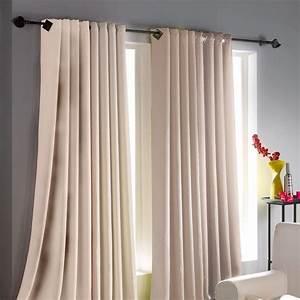 Poser Des Rideaux : comment bien choisir les rideaux pour votre salon ~ Nature-et-papiers.com Idées de Décoration