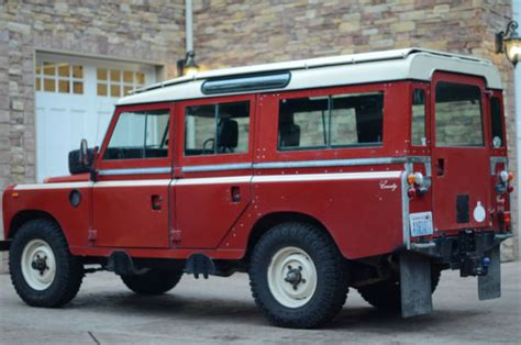 land rover defender suv 1980 for sale sallbcmh1ba179590 1983 land rover series 3 109 county