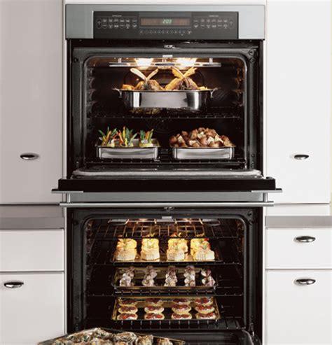 ge monogram  built  electronic convection double oven zetsfss ge appliances