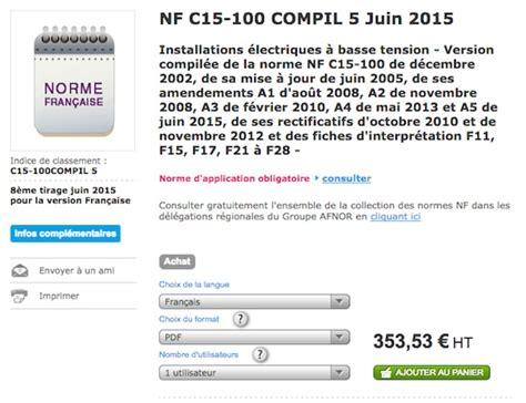norme nfc 15 100 cuisine nfc 15 100 devenez incollable sur la norme électrique