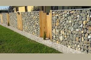 Mur En Gabion : murs en gabion les avantages ~ Premium-room.com Idées de Décoration