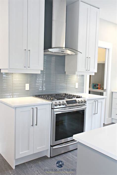 White Kitchen Cabinets And Countertops by White Kitchen Cabinets 3 Palettes To Create A Balanced