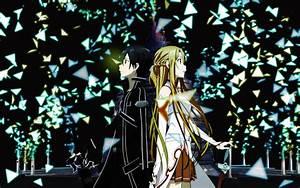 Kirito and Asuna Full HD Wallpaper and Background ...