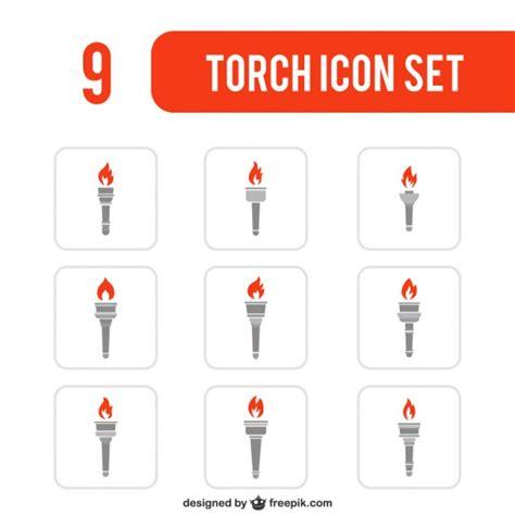 vari 233 t 233 des ic 244 nes de la torche t 233 l 233 charger des vecteurs gratuitement