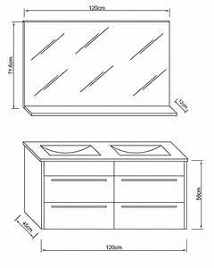 dimensions meuble salle de bain dootdadoocom idees de With meuble de salle de bain dimension