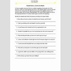 Phrasal Verbs Worksheet 4  Correct The Mistake