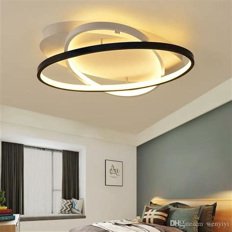 Living Room Ceiling Lights Canada by Modern Bedroom Led Ceiling Lights White Black Living Room