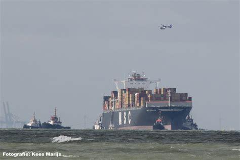 Schip Westerschelde by Schip Vast Op Westerschelde Zeeland Op Foto