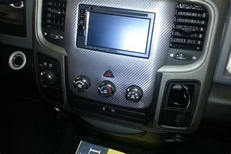 dodge ram custom double din tunes  tint