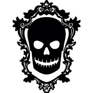 silhouette design store view design  skull cameo
