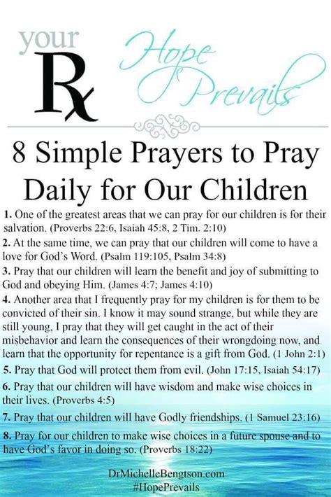 8 simple prayers to pray daily for our children dr 393 | 8 Simple Prayers to Pray Daily for Our Children Your RX