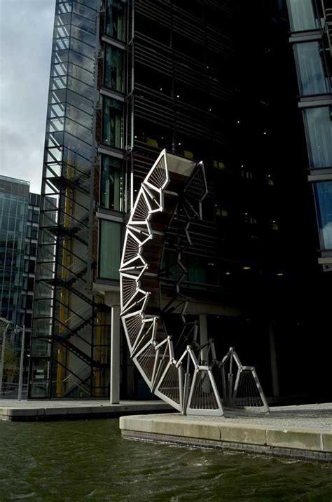 rolling bridge london paddington basin architect