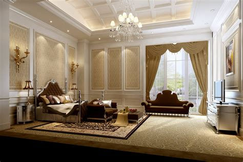 most luxurious home interiors luxury bedroom 3d model max cgtrader com