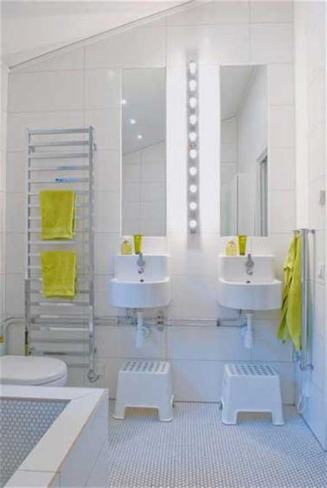 salle de bain moderne pour enfant
