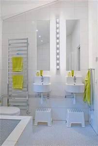 salle de bain moderne pour enfant With carrelage salle de bain enfant