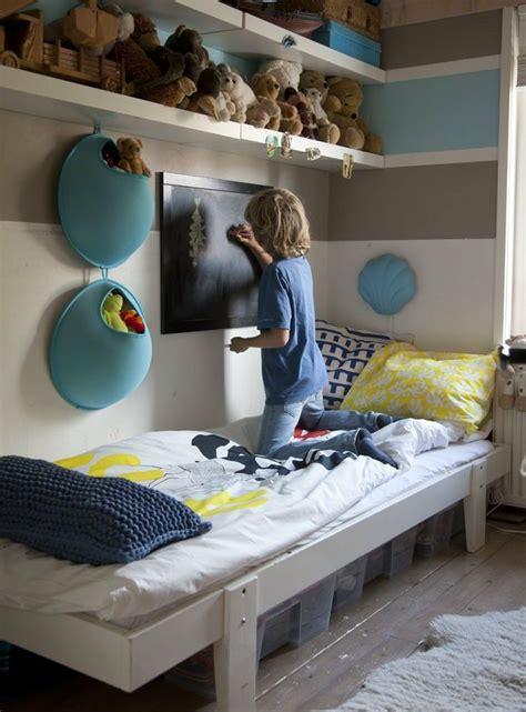 etagere rangement chambre longues etageres rangements ronds turquoise deco diy
