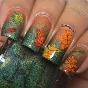 Best fall autumn nail art designs ideas