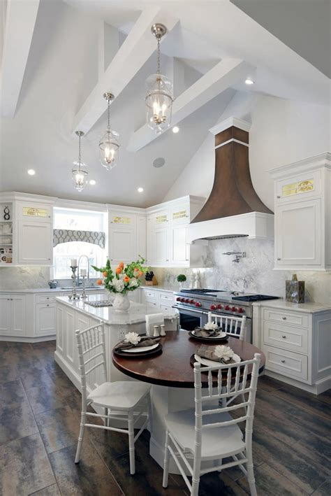 kitchens  vaulted ceilings photo gallery home