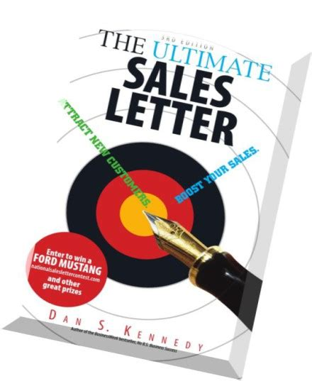 the ultimate sales letter the ultimate sales letter attract new customers 2107