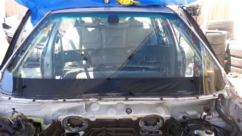 Bmw E39 5series Front Windshield Removal M5 540i 530i