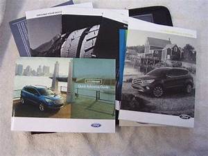 2018 Ford Escape Owner U2019s Manual Set